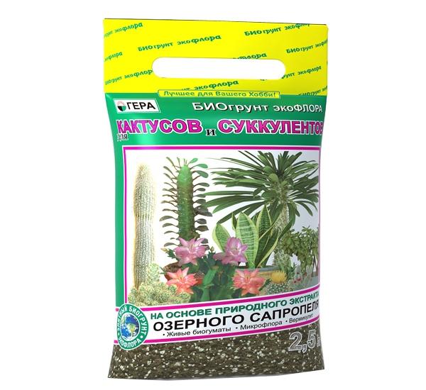 Субстрат для кактусов и суккулентов