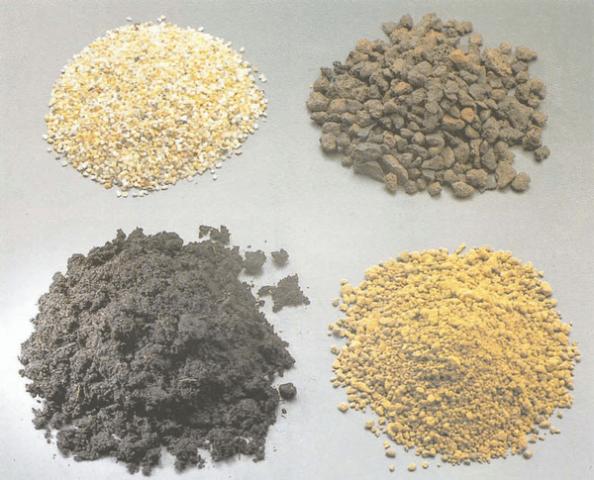 почва песок
