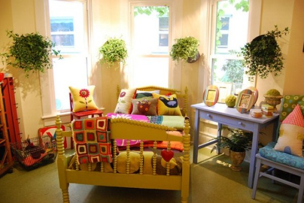 Комнатные растения в детской комнате