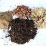 Составляющие грунта для антуриума