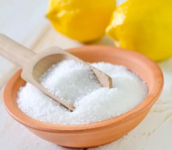 Лимонная кислота используется для поддержания уровня кислотности почвы