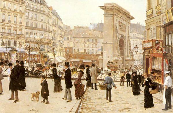 Париж XIX века