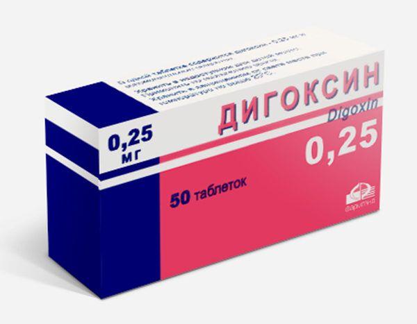 Наперстянка используется для производства Дигоксина